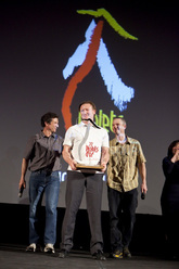 Piolets d'Or 2012: the Americans Steve Swenson, Mark Richey and Freddy Wilkinson