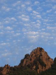 Il versante nord - ovest di Rocca Pendice