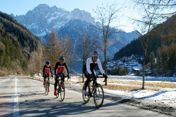 By bike from Asolo to Passo Fedaia, Marmolada