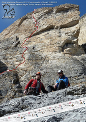 Via Schirata (IX-, 235m, Manuel Stuflesser, Martin Riegler), Piz Ciavazes, Sella, Dolomiti