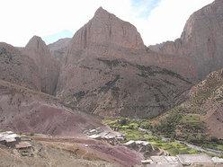 Il paese di Taghia con Taoujdad, Oujdad e Tagoujimt n'Tsouiant