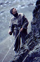 Mount Kenya old style mountaineering