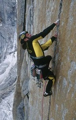 Women and chalk, East Face Shipton Spire, Trango, Pakistan