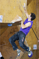 Kilian Fischhuber competing at Log-Dragomer (Slovenia)