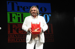 Victor Kossakowsky, winner of the 60th Trentofilmfestival