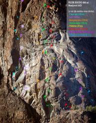 Le vie del Pilier Rhodo, Montjovet, Valle d'Aosta