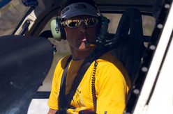 Simone Moro between Everest, Lhotse and helicopter rescues