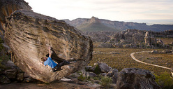 Tomorrow I Will Be Gone: bouldering at Rocklands in South Africa.