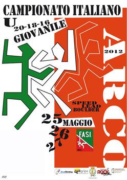 Dal 25 al 27 maggio 2012 ad Arco di Trento va in scena il Campionato Italiano Giovanile 2012 di arrampicata sportiva con le discipline Speed, Lead e Boulder.
