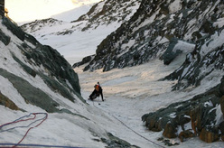 Grossglockner: Pallavicini, the final ice pitch