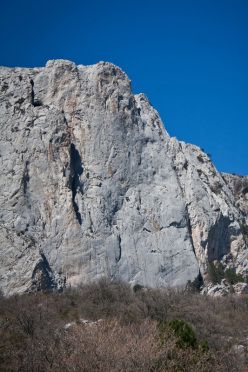 Mount Morcheka in Crimea, Ucraina