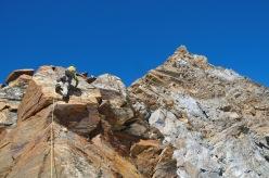 Cresta del Soldato alla P.ta Giordani e Piramide Vincent: un divertente risalto sulla Cresta del Soldato