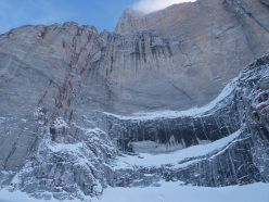The North Face of Polar Sun Spire, Baffin Island.