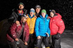 Tutto il gruppo riunito a Campo Base del Nanga Parbat