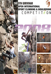 5th Girivihar Open international Sports Climbing and Bouldering Competition - Bombay 25-27/01/2008