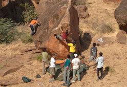 Indian Climbing