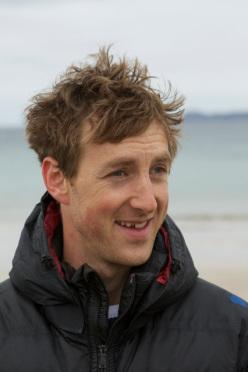 L'arrampicatore inglese Charlie Woodburn