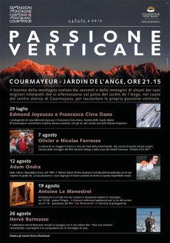 La Passione Verticale conquista Courmayeur, 5 appuntamenti nel segno della montagna dal 29 luglio al 26 agosto 2012