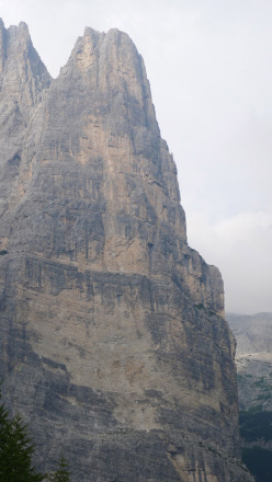 Mayan Smith-Gobat and David Falt during their July 2012 repeat of Donnafugata sulla Torre Trieste, Civetta, Dolomites