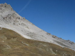 Umbrail - Il sentiero che sale sul territorio svizzero