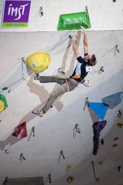 Jorg Verhoeven winning at Imst, Austria