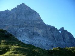 La parete dello Scheideggwettwerhorn (3361m)