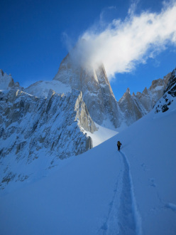 Fitz Roy Patagoniam winter 2012 attempt by Michael Lerjen-Demjen and Jorge Ackermann