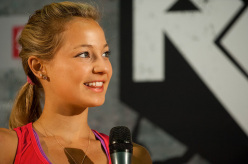 Sasah DiGiulian at the adidas Rockstars 2012