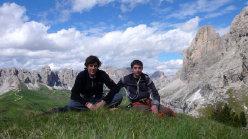 Martin Dejori e Alex Walpoth