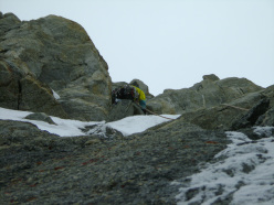 During the first ascent of Levski Peak (5733m)