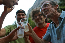 The Valmasino Mountain Guides celebration on 15/08/2012.
