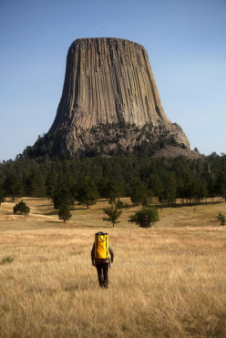La Devil's Tower, Wyoming
