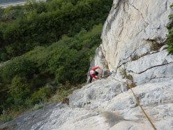 La galoppata sulle pareti del Lago di Ivo Ferrari