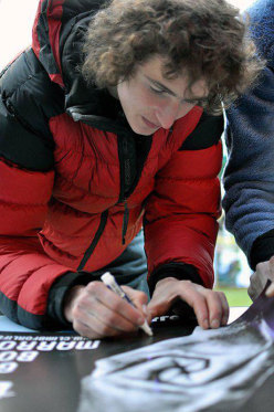 Adam Ondra supporting Climb for Life