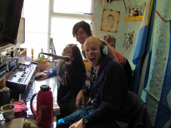 Aguja Poincenot, Patagonia: I got interviewed in local radio in Spanish... A big benchmark in my newest language project..