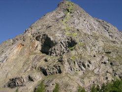 Tracciato della via Carpe diem, Aiguille de Chatelet, Monte Bianco