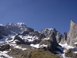 Aiguille de Chatelet, panorama dalla vetta