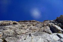 Su L1 di Eppure il vento soffia ancora, Rocca la Meja, Val Maira