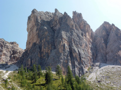 Cima Cason de Formin, Dolomiti