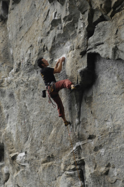 Luca Franco a Rocca Bert, Piemonte