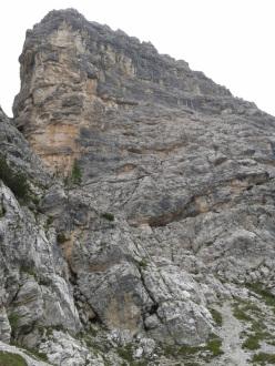 Via del Lares (VI+, 150m), Crepa Toronda, gruppo del Pelmo, Dolomiti.