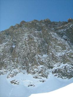 La parete di Cugnisiun zero', Monviso, Parete Nord, Settore Nord Est