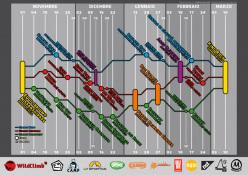 Il calendario di Bloccati Nella Nebbia 2012 - 2013