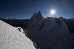 Renan Ozturk, Sharks Fin, Mount Meru, Garwal Himalaya