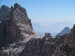 The North Face of Croz del Rifugio (Brenta Dolomites)
