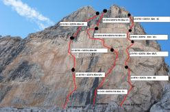 Via Lady Castelli, Via Bregtie e Via dei Violinisti, Dolomiti di Brenta
