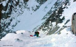 Voie Mallory, Aiguille du Midi, Monte Bianco