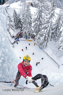 Ice Climbing World Cup 2012: Angelika Rainer