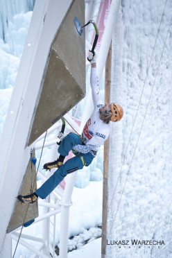 Ice Climbing World Cup 2012: Markus Bendler