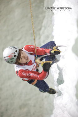 Ice Climbing World Cup 2012: Park Hee Yong